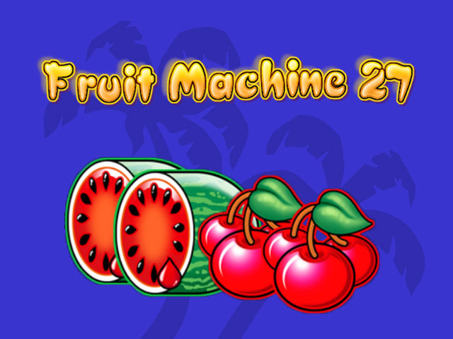 Fruit Machine 27 Kajot