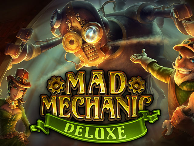 Dobrodružný online automat Mad Mechanic Deluxe