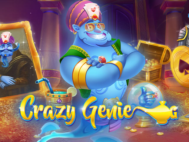 Crazy Genie Red Tiger